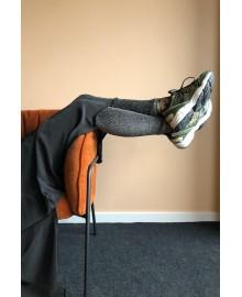 Black Colour Leggings Silver 9896SI