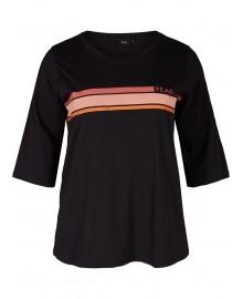 Zizzi MLILY, 3/4 T-shirt M57416D