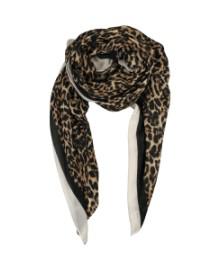 Black Colour DAKOTA twill scarf leo 188126