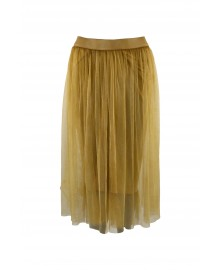 Black Colour KINE Skirt Yellow 9808YE