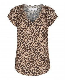 Co'couture Sunrise Adore Animal Top 95368