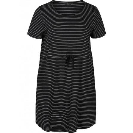 Black w.White Stripe