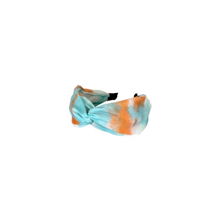 Black Colour JOSIE tie dye Headband 2031 Orange