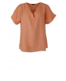 Black Colour LIMA Linen s/s Shirt 3796