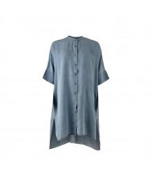 Black Colour ISOLDE Oversize Shirt 9812Denim